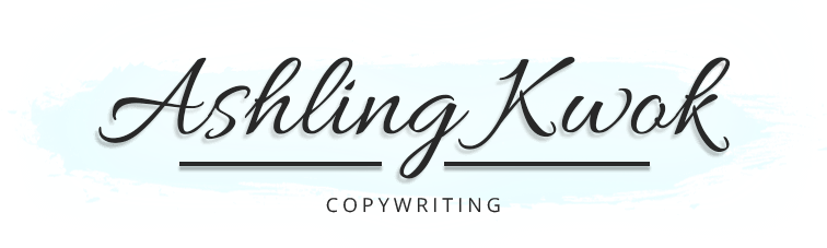 Ashling Kwok | Copywriting
